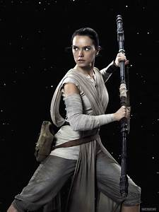 Daisy Ridley - Star Wars: The Force Awakens Poster, Stills ...
