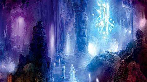 cave fantasy art wallpapers hd desktop  mobile