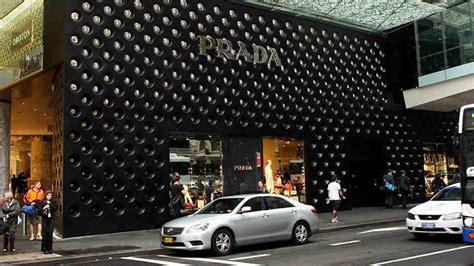 prada store sydney the wall light detail