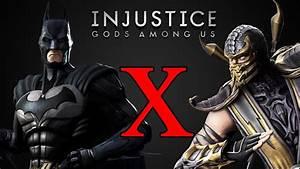 Batman X Scorpion Injustice Gods Among Us YouTube
