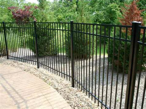 metal fencing costs aluminum fence cost athens tn bryant fence company