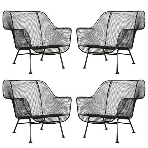 set of 4 woodard sculptura lounge chairs at 1stdibs