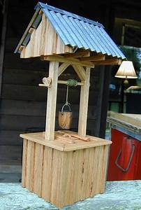 Miniature well-house, miniature woodworking, crafts and