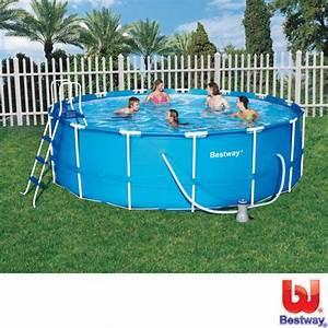 Garten Pool Bestway : stahlrahmen pool bestway stahlrahmen pool set 427 cm x 107 cm kaufen bei obi bestway ~ Frokenaadalensverden.com Haus und Dekorationen
