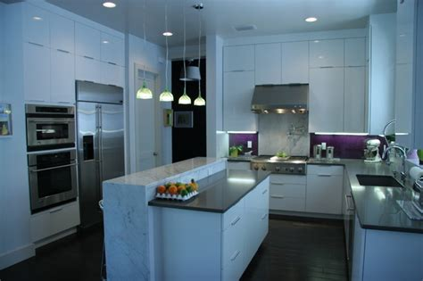 kitchens and cabinets gloss white cabinets from plain fancy custom cabinetry 3540