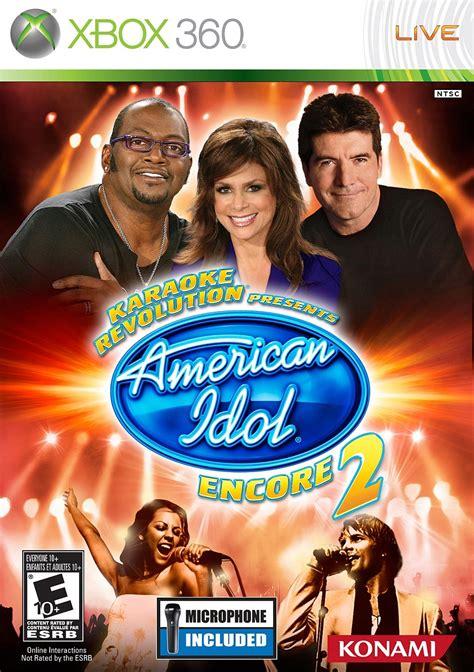 xbox karaoke karaoke revolution presents american idol encore 2 xbox 360 ign