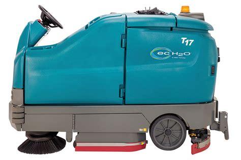 Tennant 17 Floor Machine by Tennant T17 Rider Floor Scrubber 7
