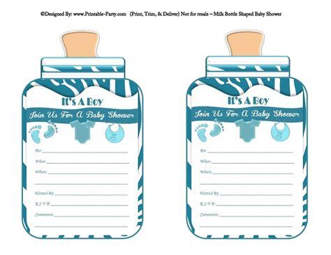 free printable baby shower invitations templates for boys boy printable bottle baby shower invitations babies milk bottle shaped invites