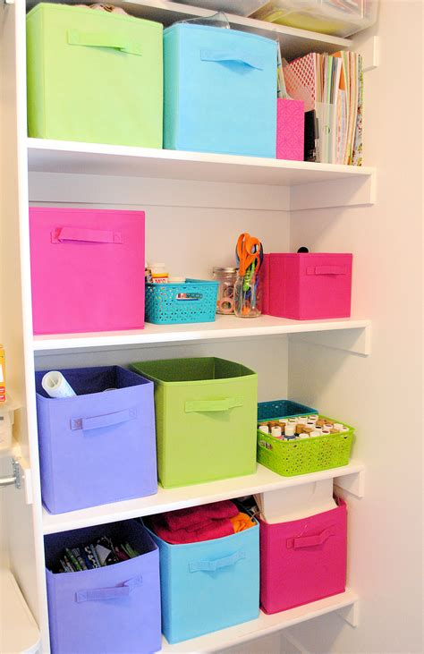 Organize A Small Bedroom by Organizing Craft Supplies In Small Spaces Closet