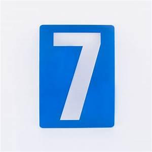 Blue Number 7 44466 | NOTEFOLIO