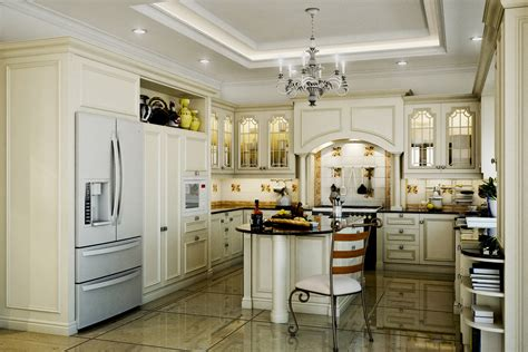classic kitchens and cabinets کابینت چیدانه 5434