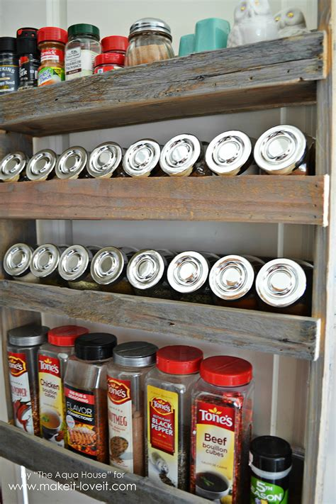 Create Your Own Spice Rack by Diy Pallet Spice Rack Make It And It