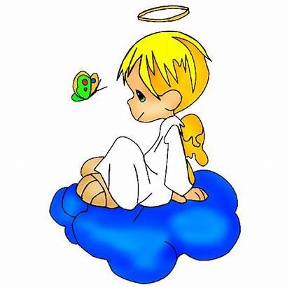 Angel Boy Clipart Cartoon Angels Clip Christmas