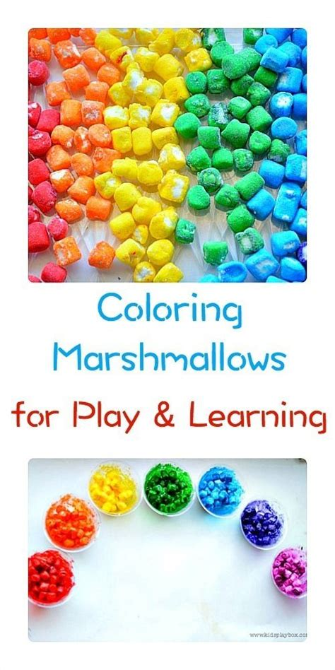 how to color marshmallows how to color marshmallows and use them for