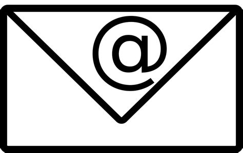 Email Address Icon · Free Vector Graphic On Pixabay