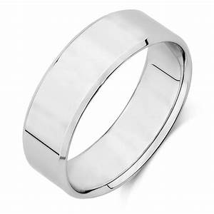 Men39s Wedding Band In 10kt White Gold