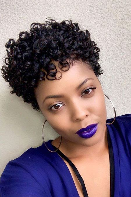 short curly hairstyles  black women  black