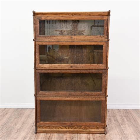 Lawyer Bookcases Glass Doors by This Rustic Lawyers Bookcase Is Featured In A Solid Wood