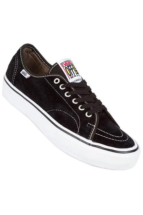 Vans Classic White vans av classic pro shoes black white buy at skatedeluxe