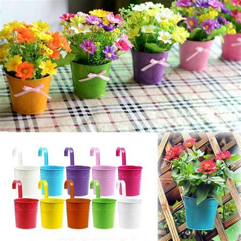 wholesale 1pcs unique design metal iron flower pot