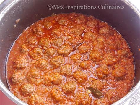 spaghetti aux boulettes de viande a l 39 italienne le