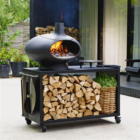 cuisine au four à bois morso forno four à pizza au bois en fonte lm30