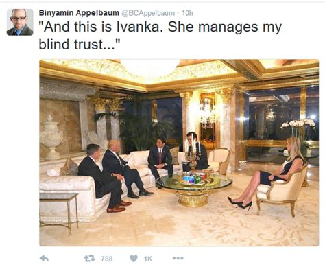 what is blind trust ny times attacks s account as news