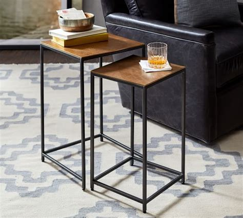 Pottery Barn Nesting Tables by Wes Nesting Side Tables Pottery Barn
