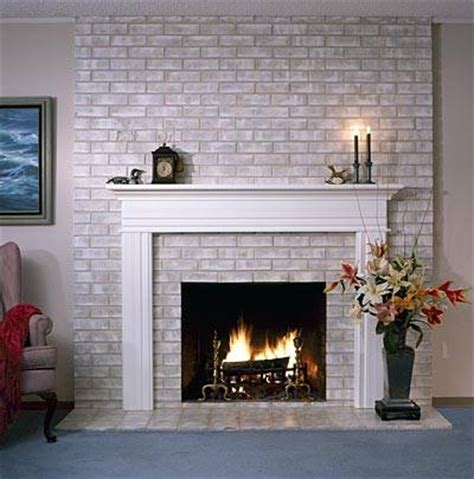 brick anew fireplace paint colors
