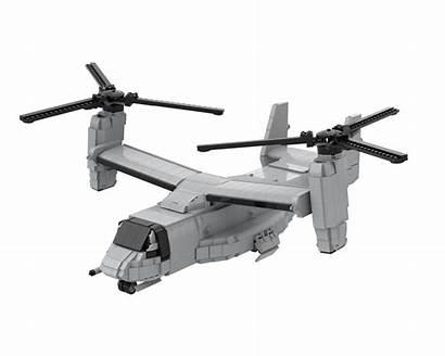 Moc Osprey Mv Lego Rebrickable Followers