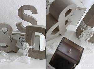 Buchstaben Aus Beton : dekobuchstaben f r die hochzeitsdekoration ~ Sanjose-hotels-ca.com Haus und Dekorationen