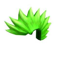 Green Hair with Oversized Bow ROBLOX