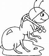 Coloring Ant Anteater Worker Wearing Pages Helmet Atom Ants Getdrawings Getcolorings Printable sketch template