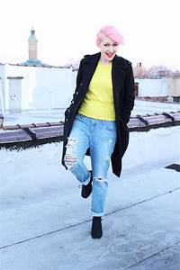 How To Wear Boyfriend Jeans In The Winter | www.pixshark.com - Images Galleries With A Bite!