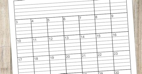 beautifully tarnished   lined monthly calendars