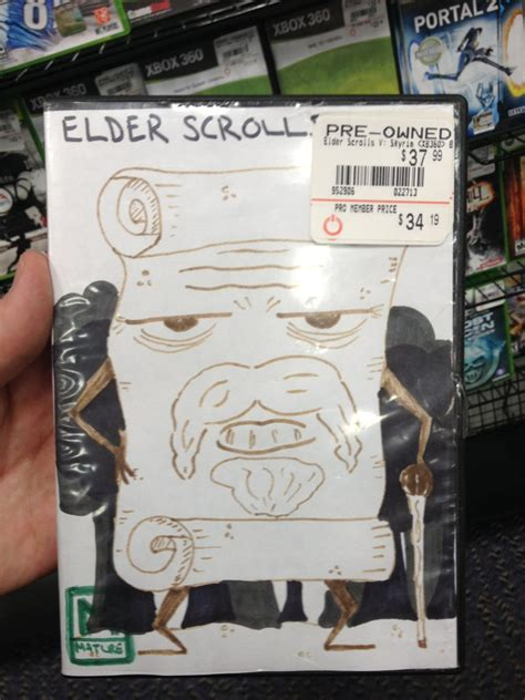 21 Hilarious Hand Drawn Video Game Covers At Gamestop