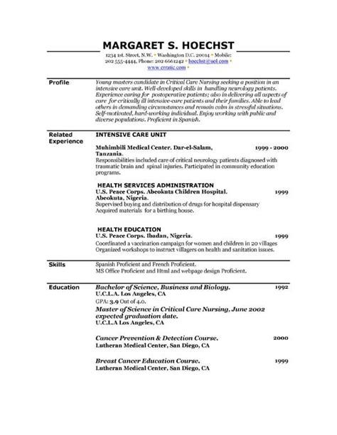 Are There Any Free Resume Builders by Free Printable Resume Template Free Printable Resume