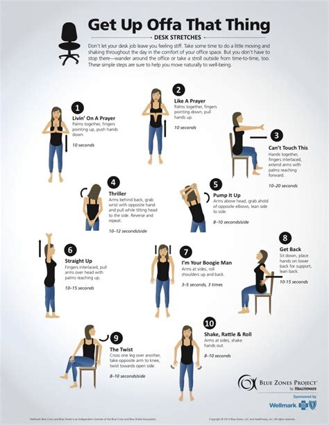 exercises to do at your desk with pictures wellness for life chiropractic desk stretches 2015