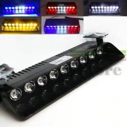 9W LED Windshield Warning Light Viper Car Flashing Strobe Lightbar Police Lights Truck Beacons Emergency Signal lamp