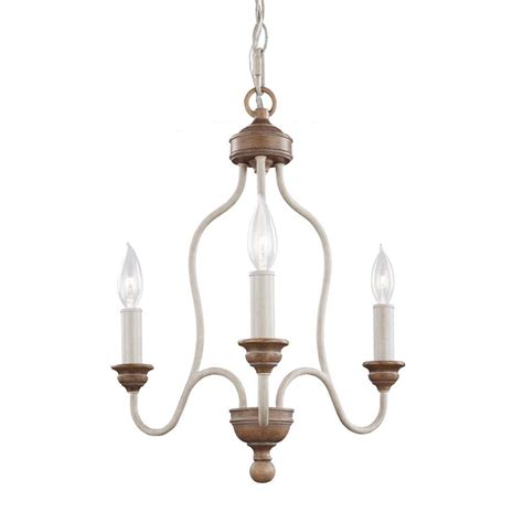 single chandelier feiss hartsville 3 light chalk washed beachwood single