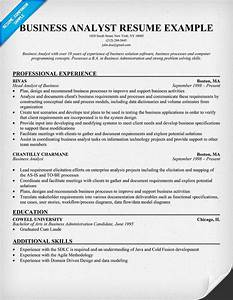 Business analyst resume example resumecompanioncom resume samples across all industries for Business analyst resume template