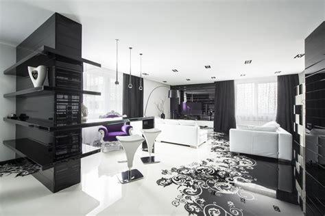 black  white graphic decor