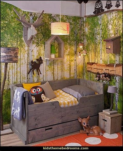 the 25 best forest theme bedrooms ideas on