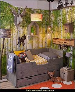 17 best ideas about forest theme bedrooms on pinterest With enchanting ideas decals for kids walls