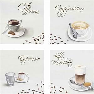 Latte Macchiato Gläser 10 Cm Hoch : a s caff crema cappuccino espresso latte macchiato kaffee leinwandbild auf platte ~ Markanthonyermac.com Haus und Dekorationen