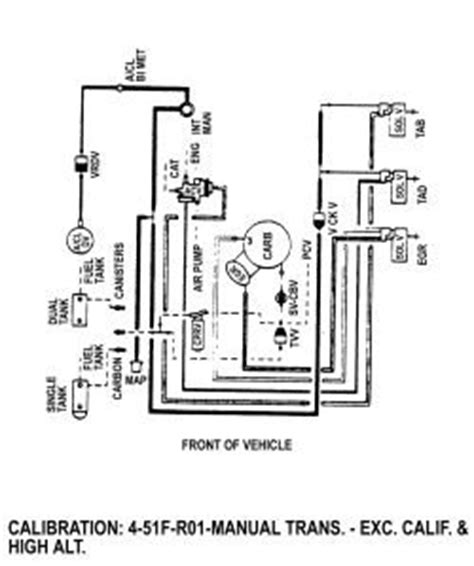 need vaccum diagram for 1984 ford f700 370 fixya
