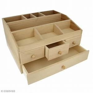 Boite A Bijoux Grande : grande bo te bijoux 4 tiroirs en bois d corer 34 3 x ~ Teatrodelosmanantiales.com Idées de Décoration