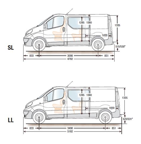 renault trafic dimensions renault trafic van dimensions auto cars