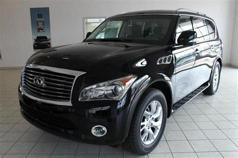 Suv For Sale by 2014 Infiniti Qx80 Base 4x4 4dr Suv Suv 4 Doors Black For