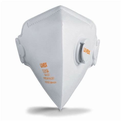 uvex silv air 2210 cup masks with valve ffp2 protection dust mask ebay